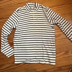 LL Bean Nautical Striped Top